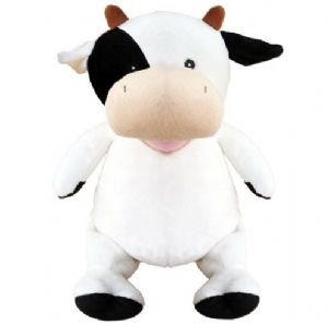 Personalised Cow Cubbie Teddy